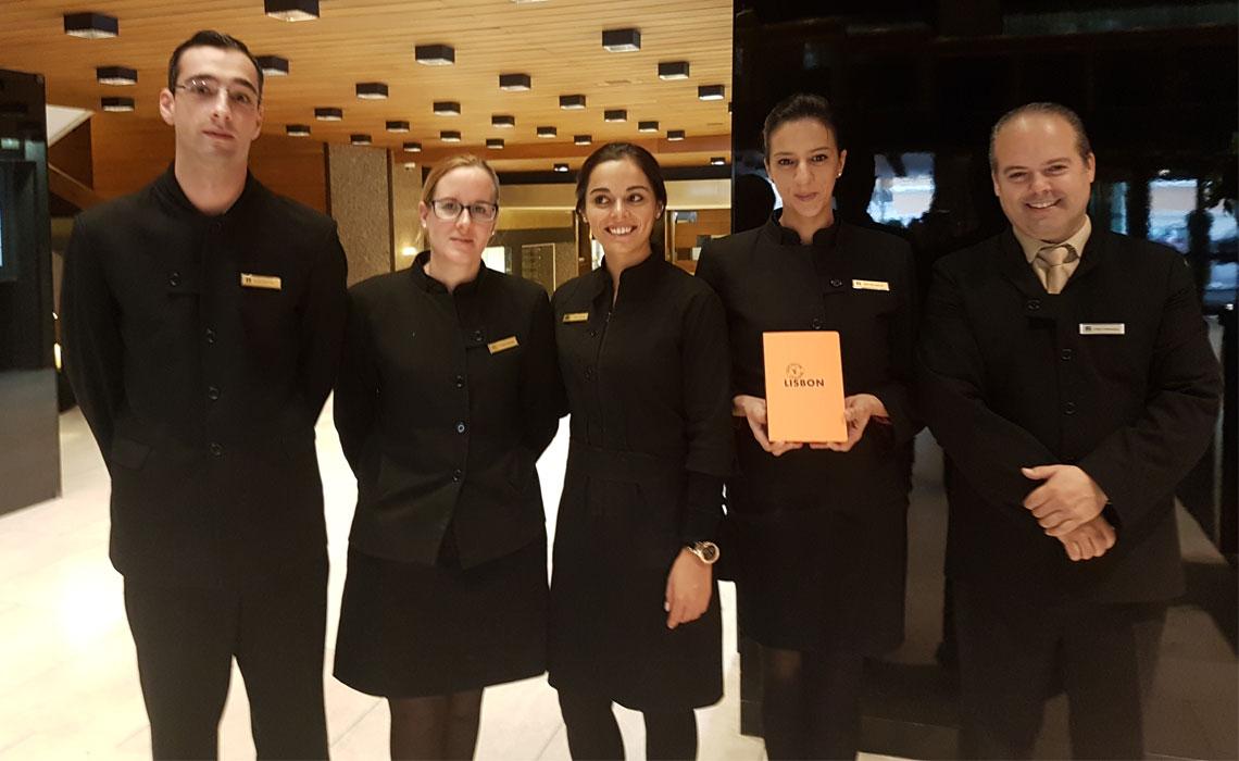 Altis hotels on lisbon city guide for Spa employee uniform